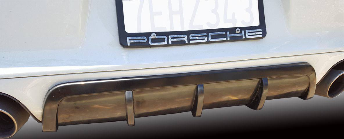 991 carrera rear diffuser  in polyurethane
