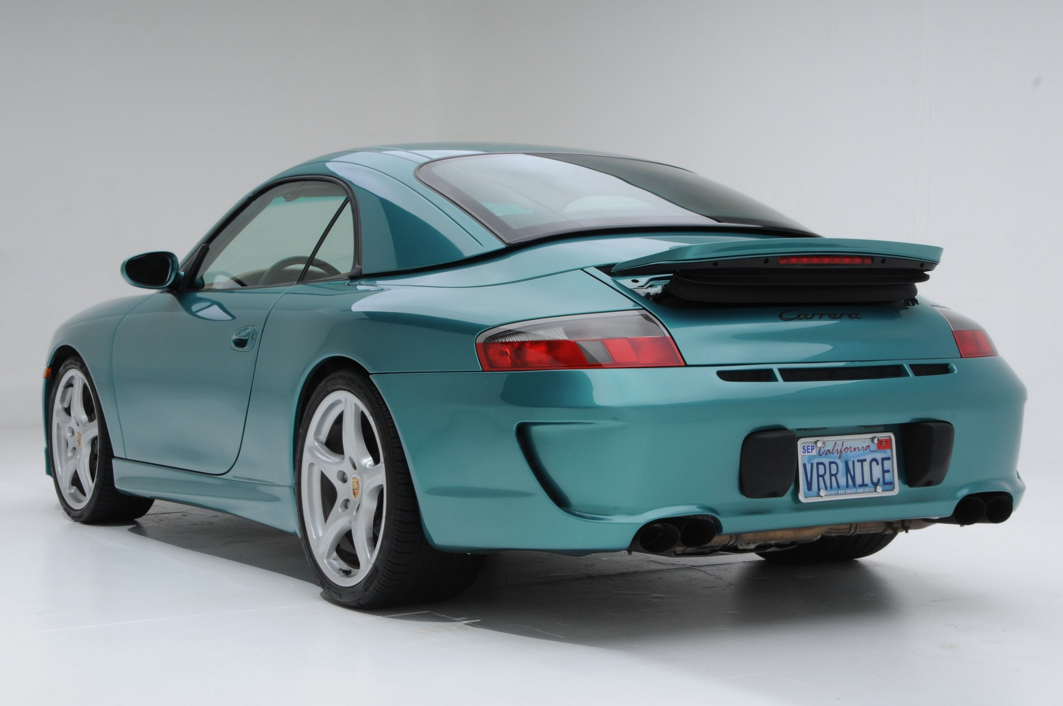 996 02-04 REAR BUMPER GT3 RS 9.9.7 LOOK Polyeurathane