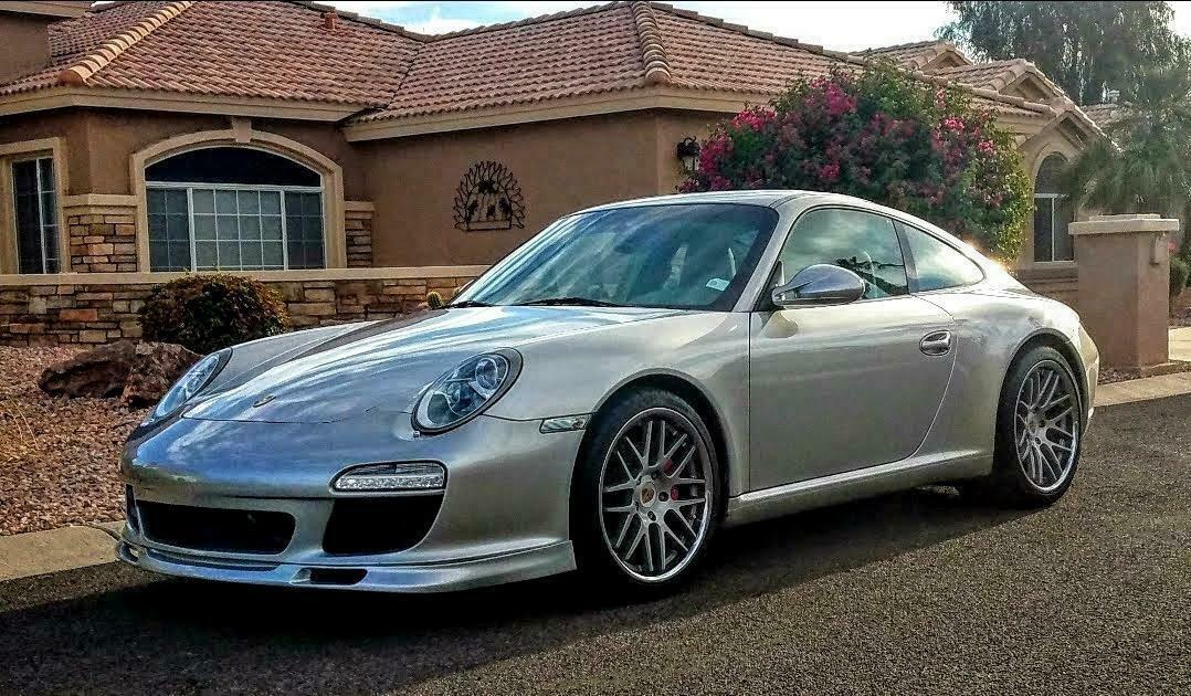 Porsche 997.2 Polyurethane front spoiler lip 2009-2012 custom ruf ta urethane