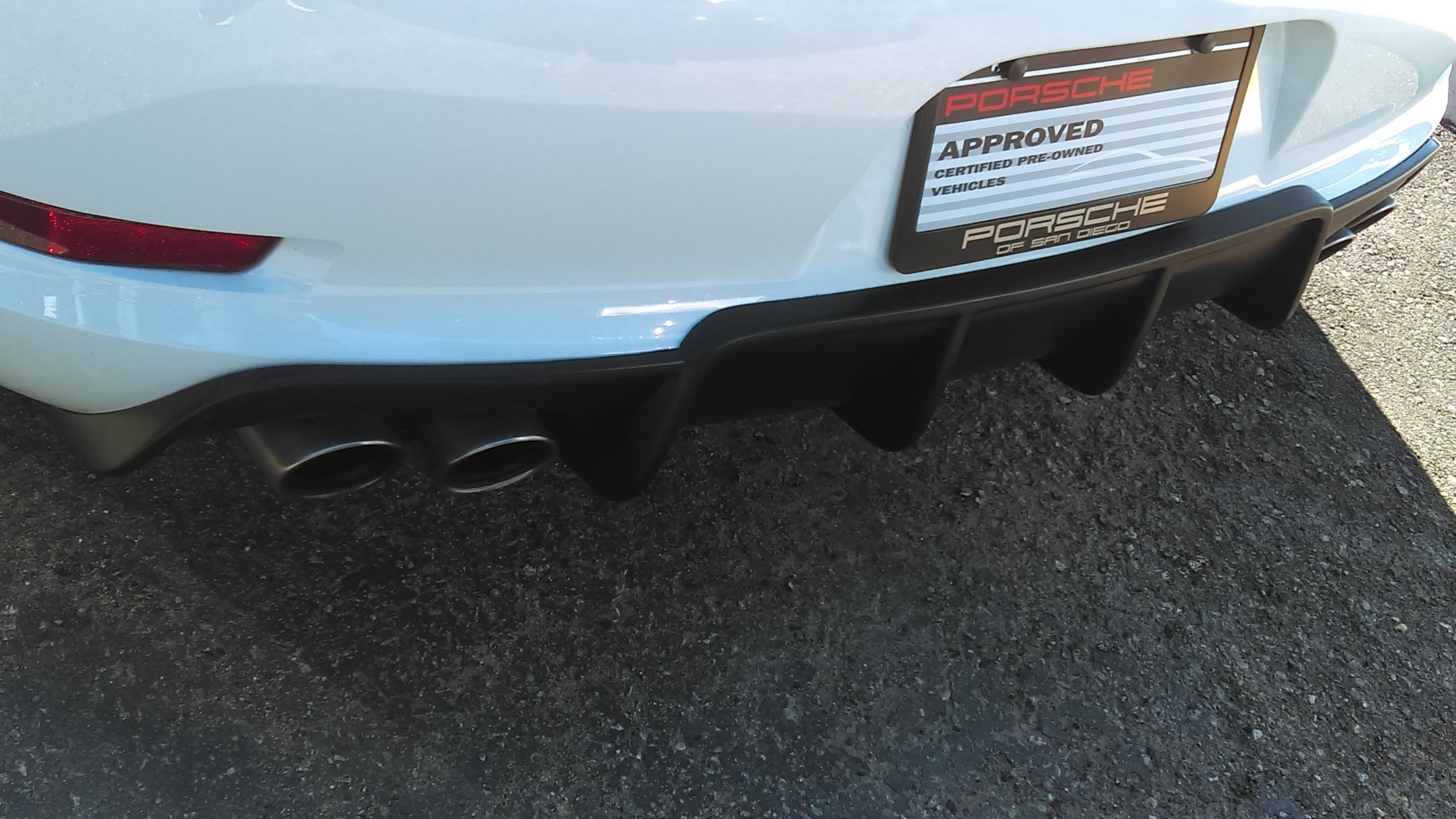 991 carrera rear polyurethane diffuser